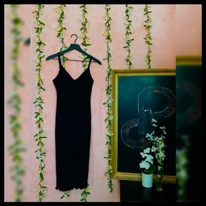 Heart & Hips Brand Tank Fitted Stretch Dress